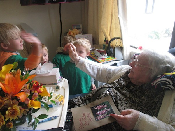 The Olive Tree Children Make A Special Visit To Somervale Each Time Resident Has Birthday Card And Wrap Up Some Chocolates